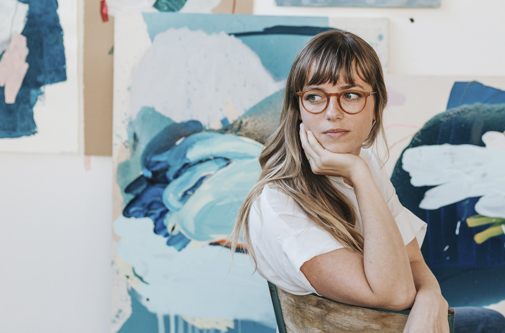Heather Day talks social media, becoming a full-time artist, and collaborating with galleries and brands.