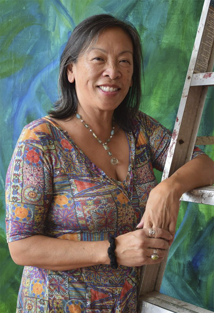 Cynthia Tom talks spirituality, art as healing, and navigating different stages of life.